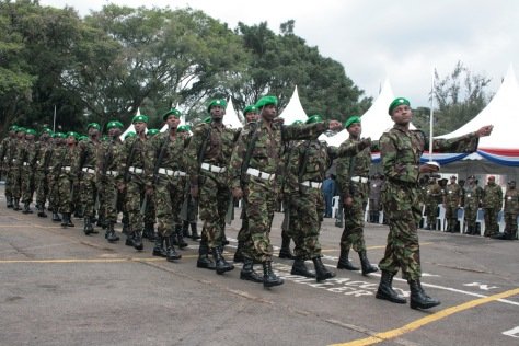 KDF AMISOM FORCES MARCH