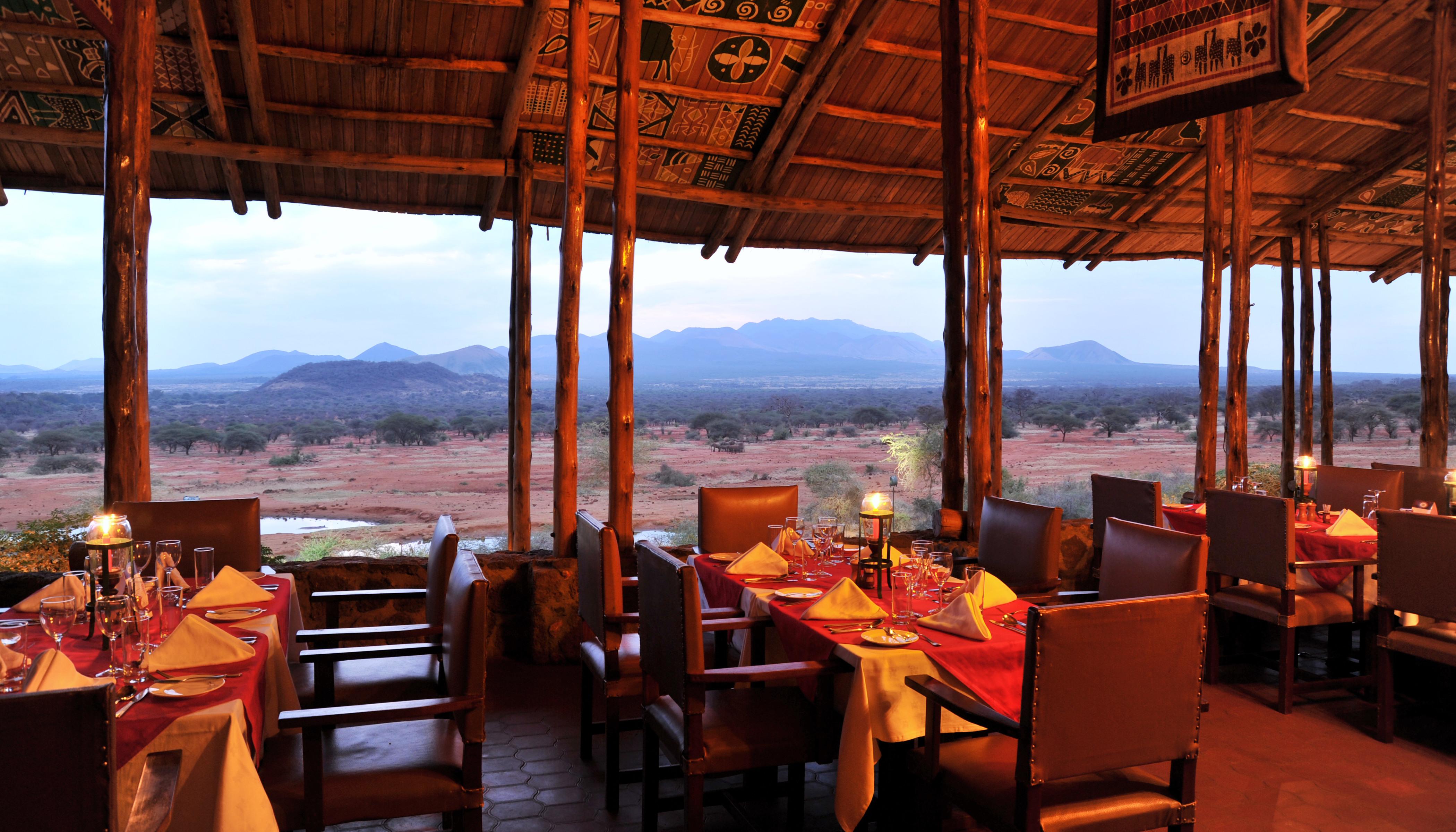 Kilaguni Serena Safari Lodge | Tsavo National Park Kenya ...