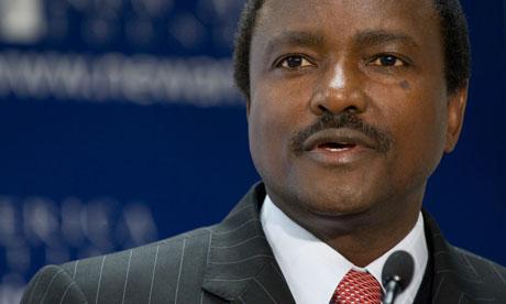 MDG : Republic of Kenya Vice President Kalonzo Musyoka