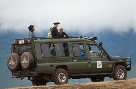 Safari Vehicle Tanzania photo tour Don May