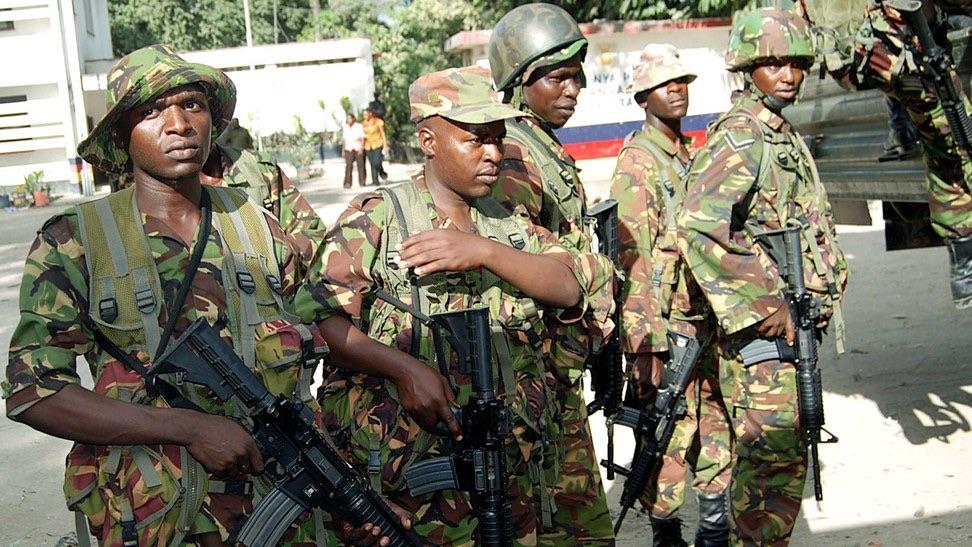 Image result for kenya defence forces officers