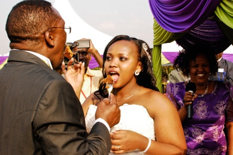 Image result for Pastor James Ng'ang'a and wife Mercy Murugi