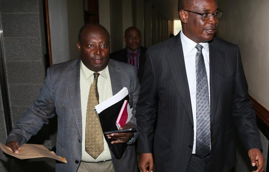 Image result for Kidero arrested again with george Wanaina