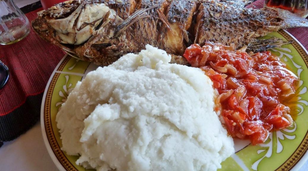 Ugandan Food Menu